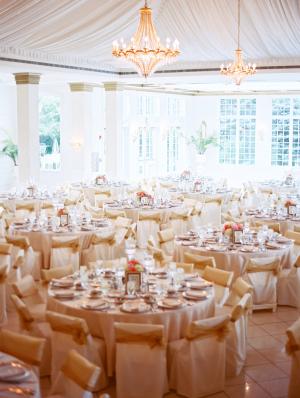 Ivory Wedding Reception