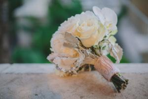 Monogrammed Bouquet Wrap