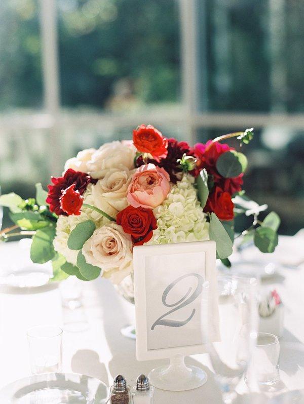 Pink Red and Ivory Centerpiece - Elizabeth Anne Designs: The Wedding ...