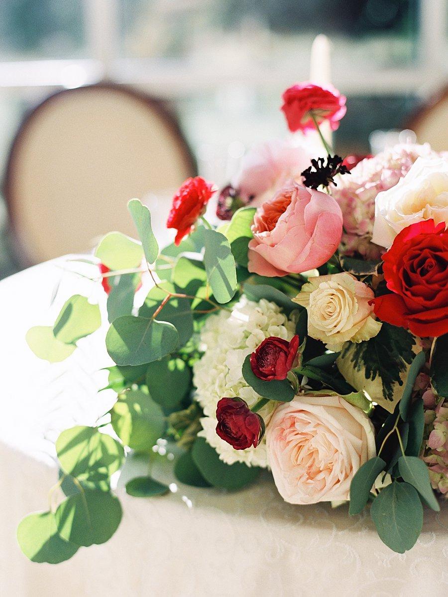 Pink And Red Wedding Centerpiece Elizabeth Anne Designs The
