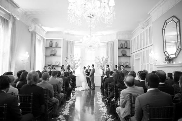 Pratt House Wedding Ceremony 4
