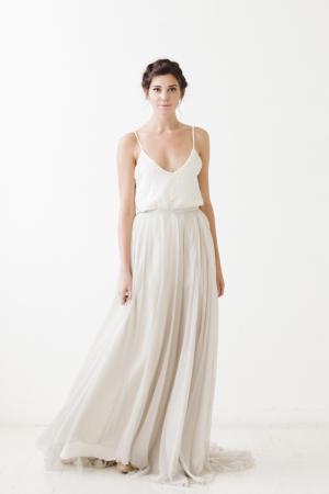 Watts Skirt Grey