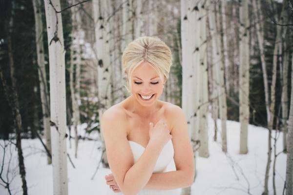 Winter Colorado Bride