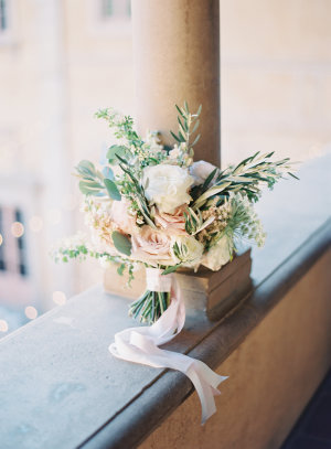 Blush Bouquet with Greenery