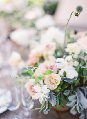 Blush and Ivory Wedding Flowers