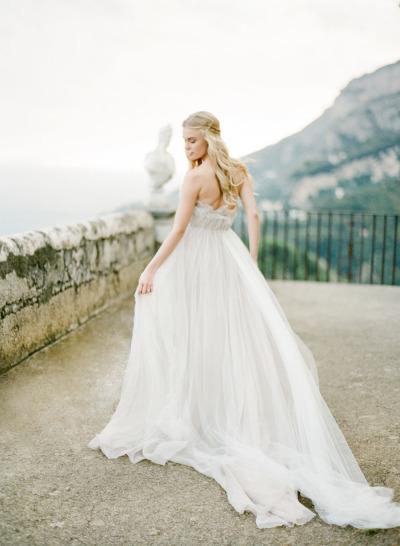 Bride in Samuelle Wedding Dress