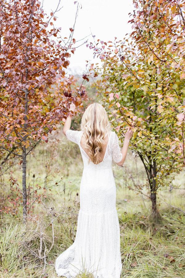 Bride in Sarah Seven Gown 14