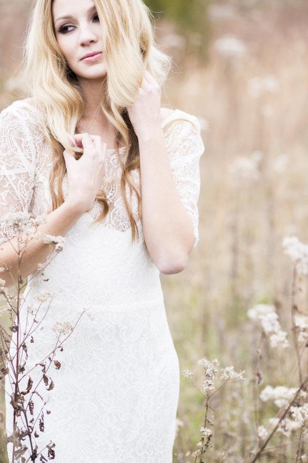 Bride in Sarah Seven Gown 27