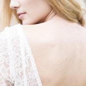 Bride in Sarah Seven Gown 9