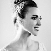 Bride with Chic Updo