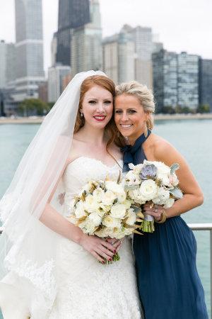 Bridesmaid in Dark Blue