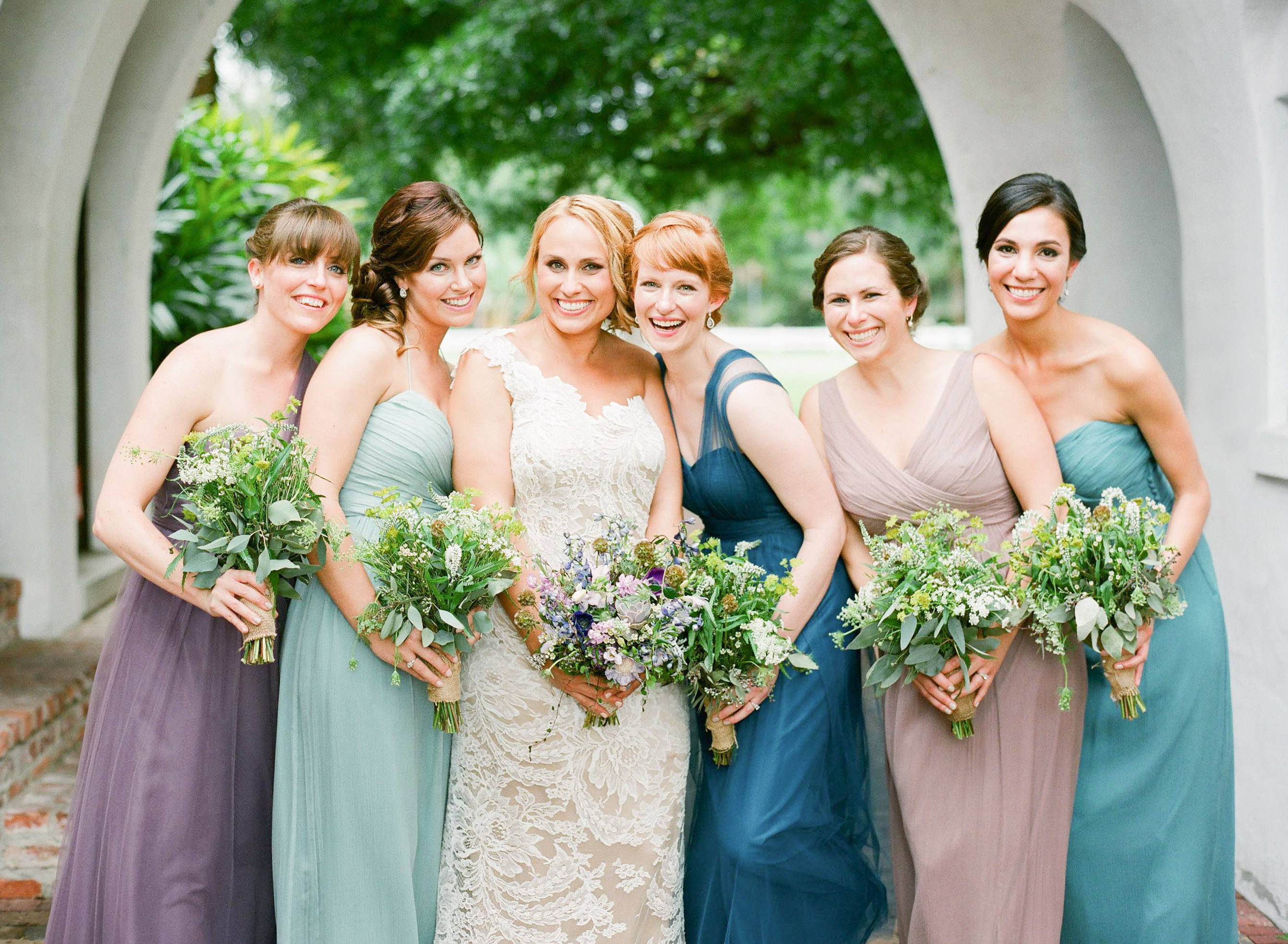 Blue And Purple Wedding Dress 16 Epic Intimate Colorful Florida Wedding