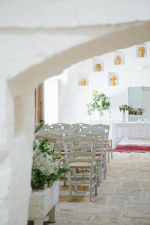 Ceremony in Italian Oasis