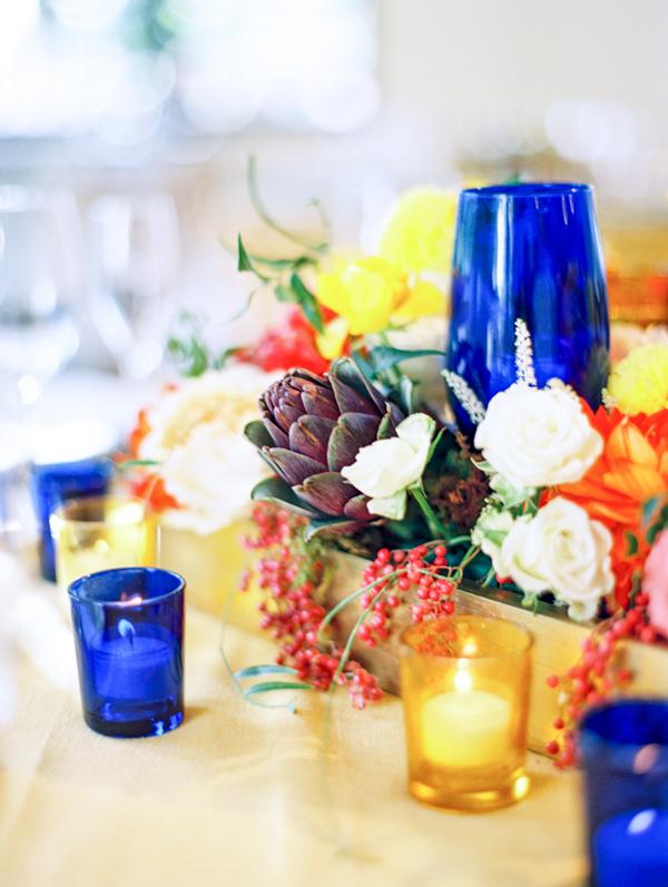 Cobalt Blue Wedding Glassware