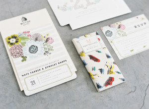 Colorful Wedding Invitations from Minted