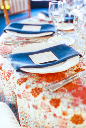 Colorful Wedding Linens