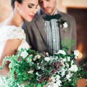 Cozy Holiday Wedding Inspiration 1