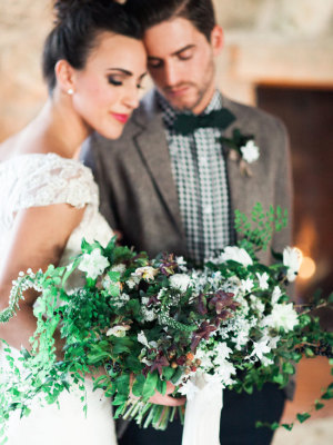 Cozy Holiday Wedding Inspiration 1