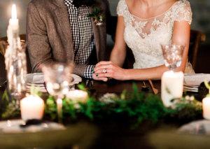 Cozy Holiday Wedding Inspiration 10