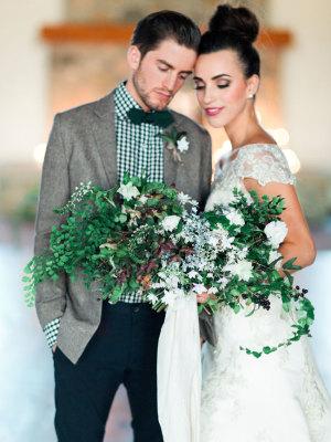 Cozy Holiday Wedding Inspiration 3