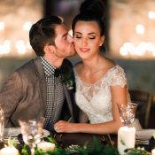 Cozy Holiday Wedding Inspiration 9