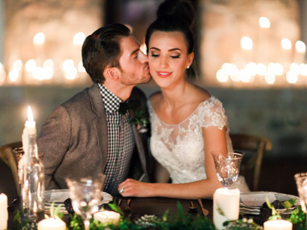 Cozy Holiday Wedding Inspiration 9
