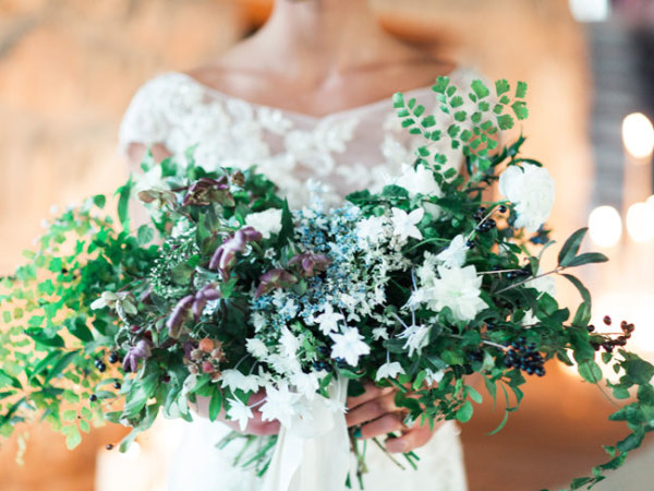 Elegant Greenery Bouquet