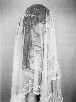 Elegant Lace Bridal Veil