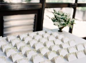 Escort Card Table at Wedding