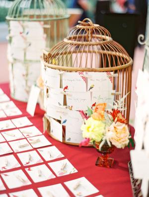 Escort Cards on Birdcage
