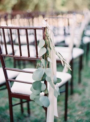 Eucalyptus Chair Decor