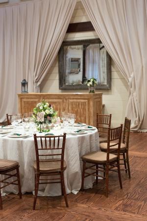 Farm Wedding Reception