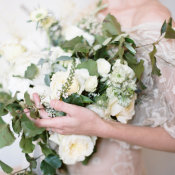 Green and Ivory Bouquet