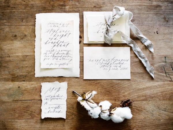 Handwritten Wedding Stationery