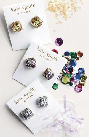 Kate Spade Boxed Glitter Stud Earrings