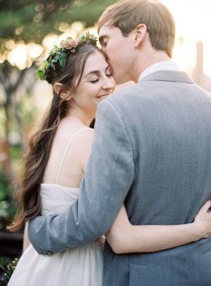 Modern NYC Wedding at The Foundry from Jen Huang 1