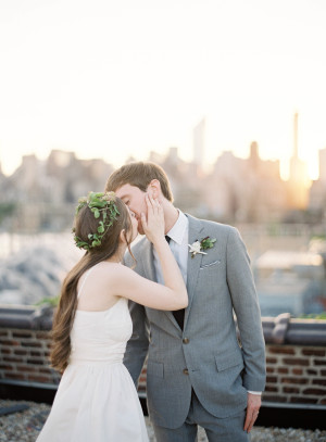 Modern NYC Wedding at The Foundry from Jen Huang 11