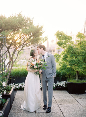 Modern NYC Wedding at The Foundry from Jen Huang 2