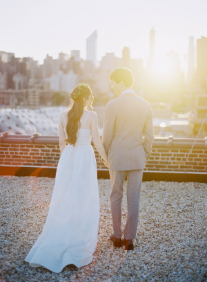 Modern NYC Wedding at The Foundry from Jen Huang 4
