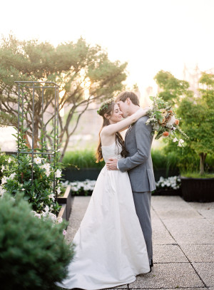 Modern NYC Wedding at The Foundry from Jen Huang 6