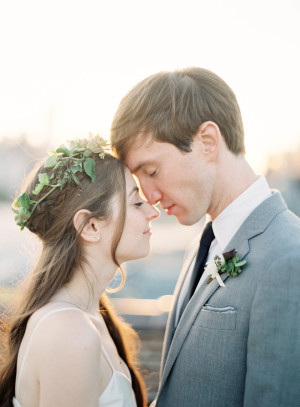 Modern NYC Wedding at The Foundry from Jen Huang 8