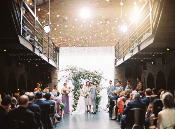 Modern Urban Wedding Ceremony