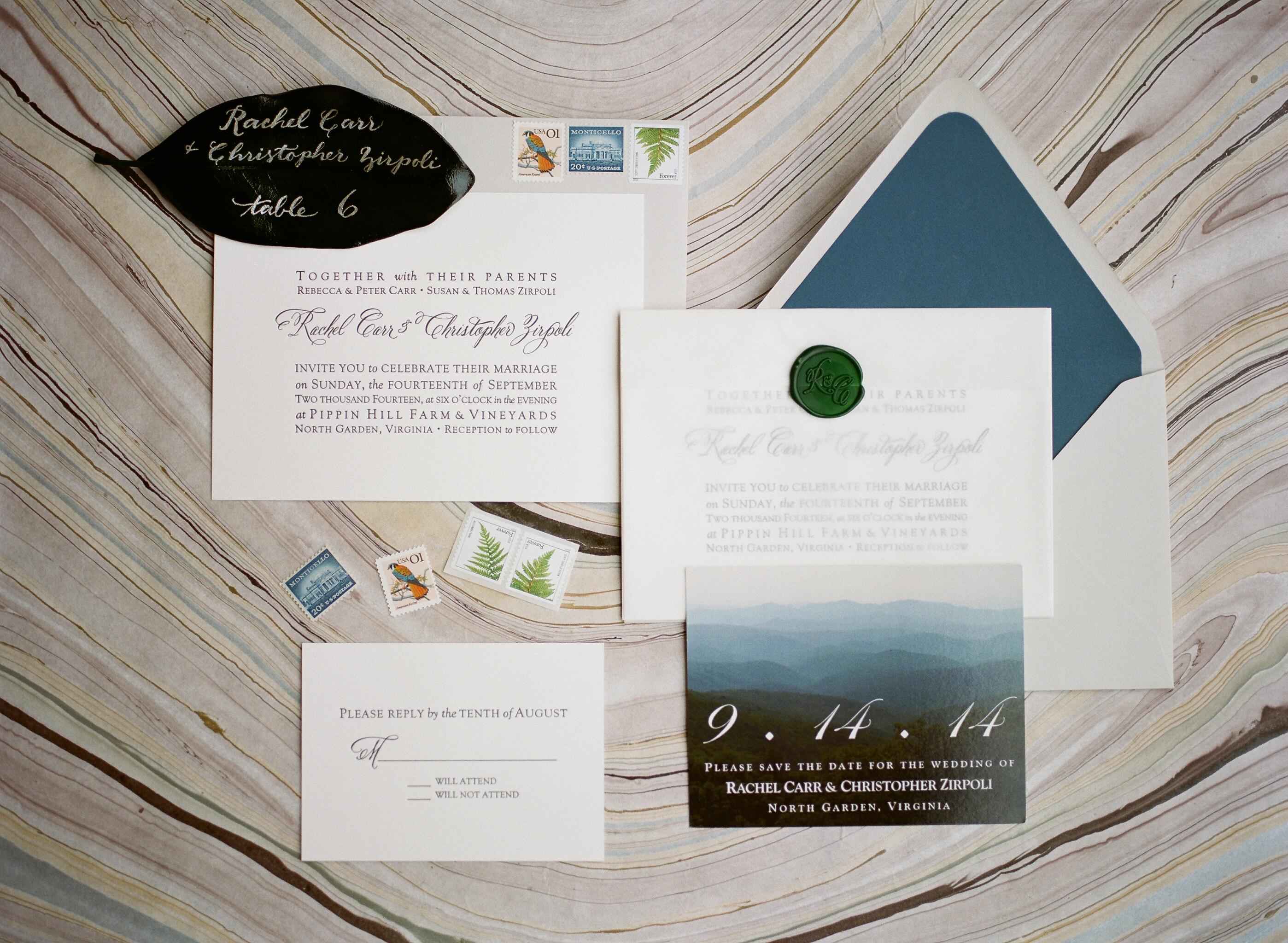 Mountain Wedding Invitations - Elizabeth Anne Designs: The Wedding Blog
