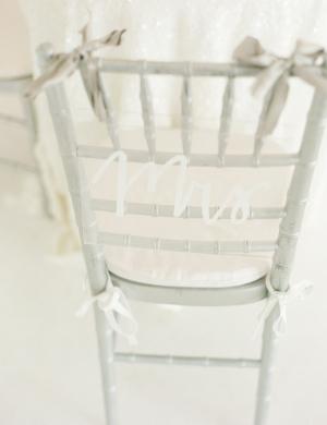 Mrs Chair Decor