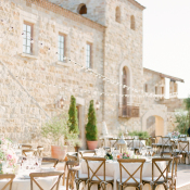 Outdoor Reception at Winery