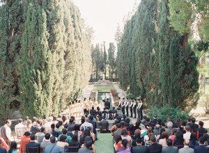 Outdoor Villa Wedding Ceremony