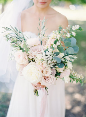 Pale Pink and Ivory Bouquet