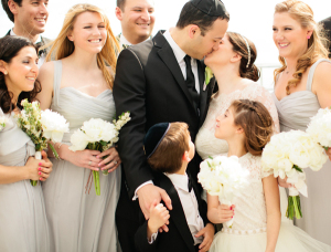 Pale Silver Wedding Party