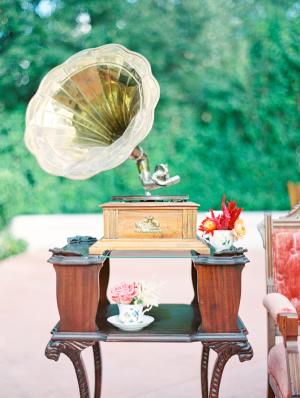 Phonograph at Wedding