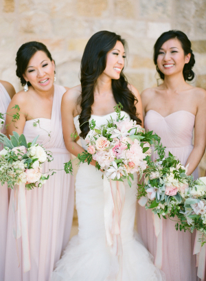 Pink Jenny Yoo Gowns